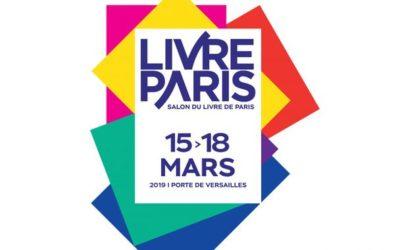 Salon Livre Paris – vendredi 15 mars 2019 au lundi 18 mars 2019 – Stand M28