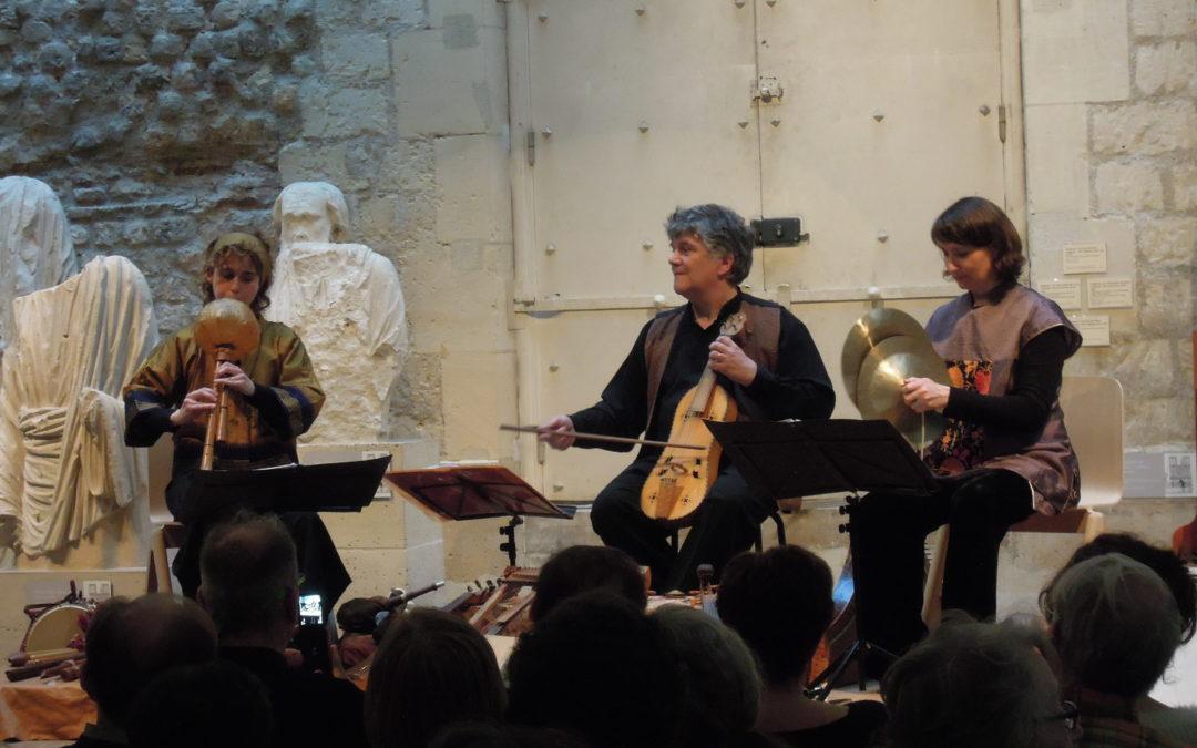 Festival Raccords : Concert de musique médiévale avec Obsidienne au musée de Cluny le 6 avril 2014