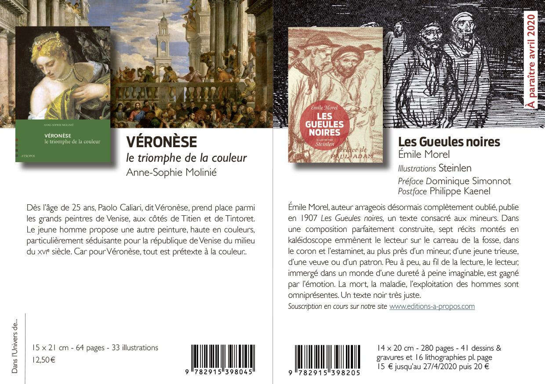 Catalogue Éditions À Propos