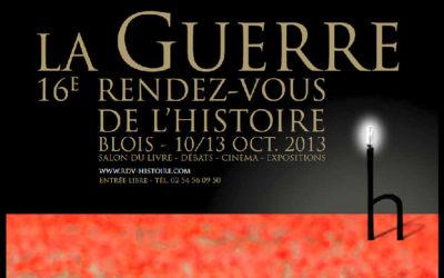 Les Rendez-Vous de l'Histoire de Blois 2013