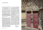 Sens première cathédrale gothique - portail